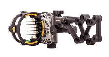 New Trophy Ridge React H5 Bow Sight 5 (.019) Pin RH Black Model# AS855