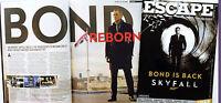SKYFALL FILM CINEMA MAGAZINE - JAMES BOND 007 SAM MENDES DANIEL CRAIG