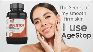 Age Stop Anti Aging Capsules Hydrolysed Collagen Protein Powder