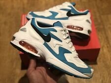 NIKE AIR MAX 2 LIGHT MENS TRAINERS UK7.5 EUR 42 US8.5 WHITE BLUE NEW