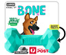 DOG BONE LARGE Indestructible Rubber Chew Toy Durable Tough Treat KONG GOODIE