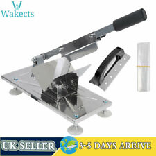 More details for manual meat slicer cheese beef mutton ham bacon slice cutter cuttting machine uk