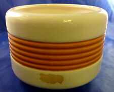 "Haeger USA #265 Planter Vase Pottery 4.25"" tall Apricot Color"