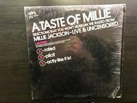 """Millie Jackson """"A Taste Of Millie"""" Live & Uncensored"""" Rare Ltd Ed US Press VG+Ex"""