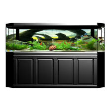 Aquarium Background Poster Stone Arch Bridge Backdrop Fish Tank 3D Sticker