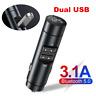 Bluetooth 5.0 Car Kit FM Transmitter Modulator MP3 Player & Dual USB Charger