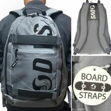 New! ~ DVS / Tech Backpack / Grey / with Front Board Straps!