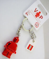 New LEGO Club Special Edition Metallic Red VIP Minifigure Keychain Collectors