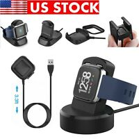 For Fitbit Versa Lite / ionic CHARGE 2 USB Charging Cable Charger Dock Station