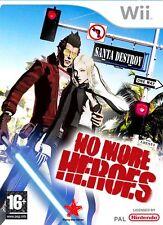 NO MORE HEROES GIOCO NUOVO PER NINTENDO Wii IN EDIZIONE ITALIANA PAL ITA 26887