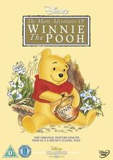Winnie the Pooh The Many Adventures of Winnie the Pooh New DVD R4