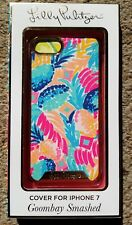 New Lilly Pulitzer iPhone 7 Cell Phone Cover Goombay Smashed free shipping