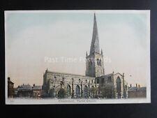 Derbyshire CHESTERFIELD Parish Church c1904