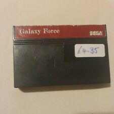 Galaxy Force Cartridge, Sega Master System
