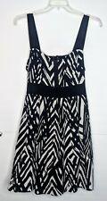 Torrid Black & White Sleeveless Tank Top Sundress Dress Women's Plus Size 24