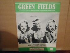 THE BEVERLEY SISTERS,  GREENFIELDS 1960