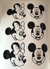 Mickey Mouse Girls Vinyl Decal Car Sticker Fantasy Magic Window Bumper Disney