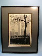 James H Wennersten Silk Screen Print Chicago Skyscrapers Signed & Numberd 35/200