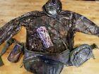 Real tree hoodie Fieldline Tactical Fanny Pack Hunting Survival mossy oak camo