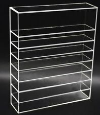 FLYMEI Clear Acrylic Palette Organizer Beauty Product Storage Display Case