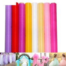 Tutu Dress Skirt Tulle Roll Fabric DIY Organza Wedding Decoration Party Supplies