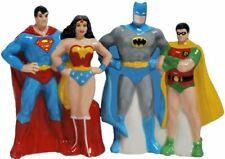 DC COMICS SUPERHEROES Magnetic Salt & Pepper Shaker Set by Westland
