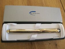 Cross Townsend 10k Gold Filled Selectip Rollingball Pen. New Old Stock