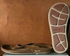 NWOB!! Maui And Sons Brown/Tan Redondo Thong Flip Flops Variety in Size