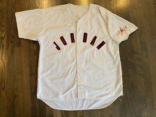 Vintage NIKE JORDAN White Baseball Jersey Size 2XL XXL