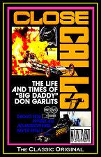 "Drag Racing Legend: ""Big Daddy"" Don Garlits CLOSE CALLS,  A Main Event DVD"