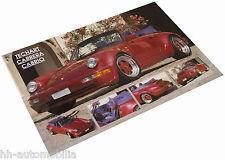 Poster Porsche TechArt Carrera Cabrio, 90er Jahre (int. Nr. 029)