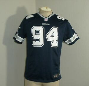 Youth Boys XL 18-20 NIKE NFL Dallas Cowboys DeMarcus WARE #94 Jersey EUC
