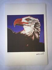 Andy Warhol Litografia 57 x 38 Arches France Timbro Secco Galleria Arte A071