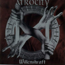 ATROCITY ‎– Willenskraft CD (Massacre., 1996) German Death Metal