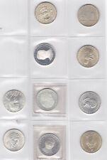 Silber Silbermünzen Lot  20 x 25 Schilling  640 u 900er Silber  208 g Feinsilber