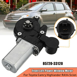 47-10009 Front Left Power Window Motor For Toyota Camry Highlander RAV4 Scion