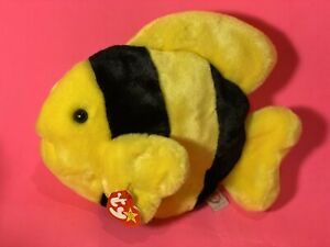 Ty Beanie Buddy BUBBLES - the Fish