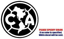 Club America Mexico soccer football JDM Vinyl Decal Sticker Car Window Wall 6""