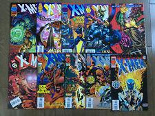 X-MEN COMIC LOT 1ST SERIES 10 ISSUES # 40 41 42 43 44 45 51 52 53 59 BISHOP