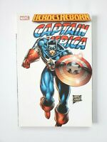 Marvel Heroes Reborn Captain America TPB 1st Printing 2006 Rob Liefeld VF-NM