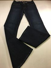 Paige Premium Denim Jeans H. H. Boot Stretch Dark Wash Size 27 X 33.5 USA EUC!