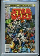 Star Wars #2 CGC 9.0 OWTW Pages 1st Han Solo and Chewbacca