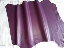 LEDER TIP 32828-D, Lederreste, 1 Lederhaut, violett nappa