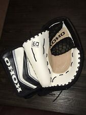 Brand New Koho Sr Ice Hockey Goalie Catch Glove Gm490Sr Left Black White Silver