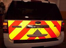 High Visibility Reflective Yellow Adhesive Vehicle Vinyl Wrap