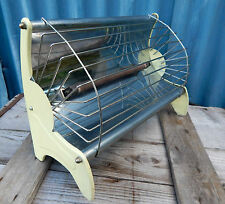Vintage Electric Heater  Fire Working Industrial Chic - Mid Century