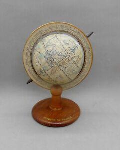 Ancien Globe Terrestre, Mappemonde PUB Laine Bergère de France