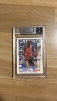 Michael Jordan Beckett Graded Card Mint 9 Chicago Bulls Basketball NBA Rookie