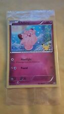 POKEMON PROMO - XY GENERATIONS - 20TH ANNIVERSARY - CLEFAIRY 50/83 (HOLO) SEALED