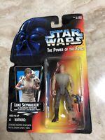 Star Wars The Power of the Force Luke Skywalker in Dagobah Fatigues 1995